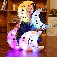 LED Luminoso Luna Almohadas de felpa Bebé Niños