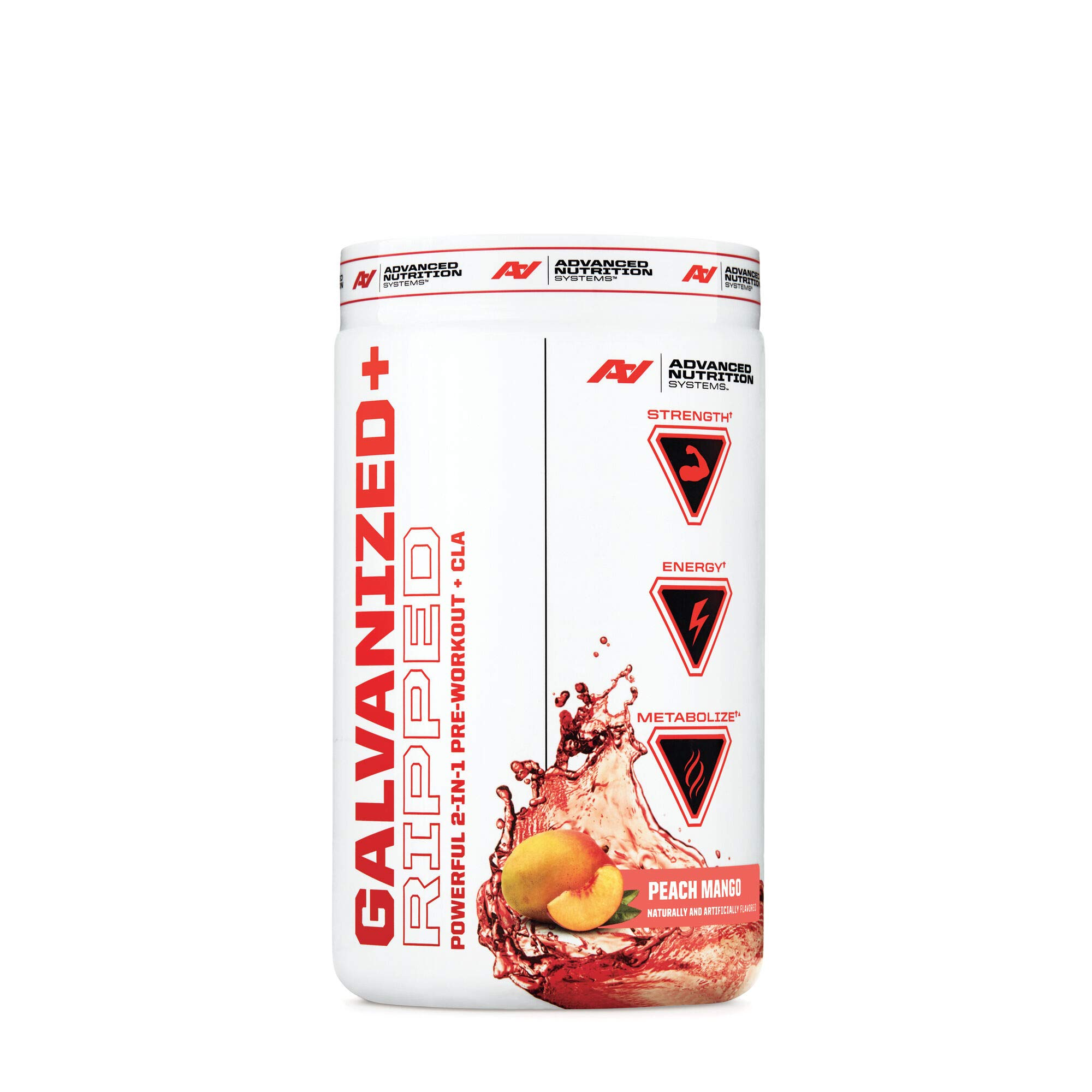 Advanced Nutrition Systems Galvanized Ripped - Peach Mango by Advanced Nutrition SystemsTM