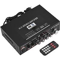 Richer-R Amplificador HiFi Bluetooth,Amplificador Audio Estéreo,3.5mm AUX Amplificador