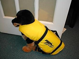 Full Throttle Medium Dogs Vest 30 60lbs Yellow Navy 6503 0133