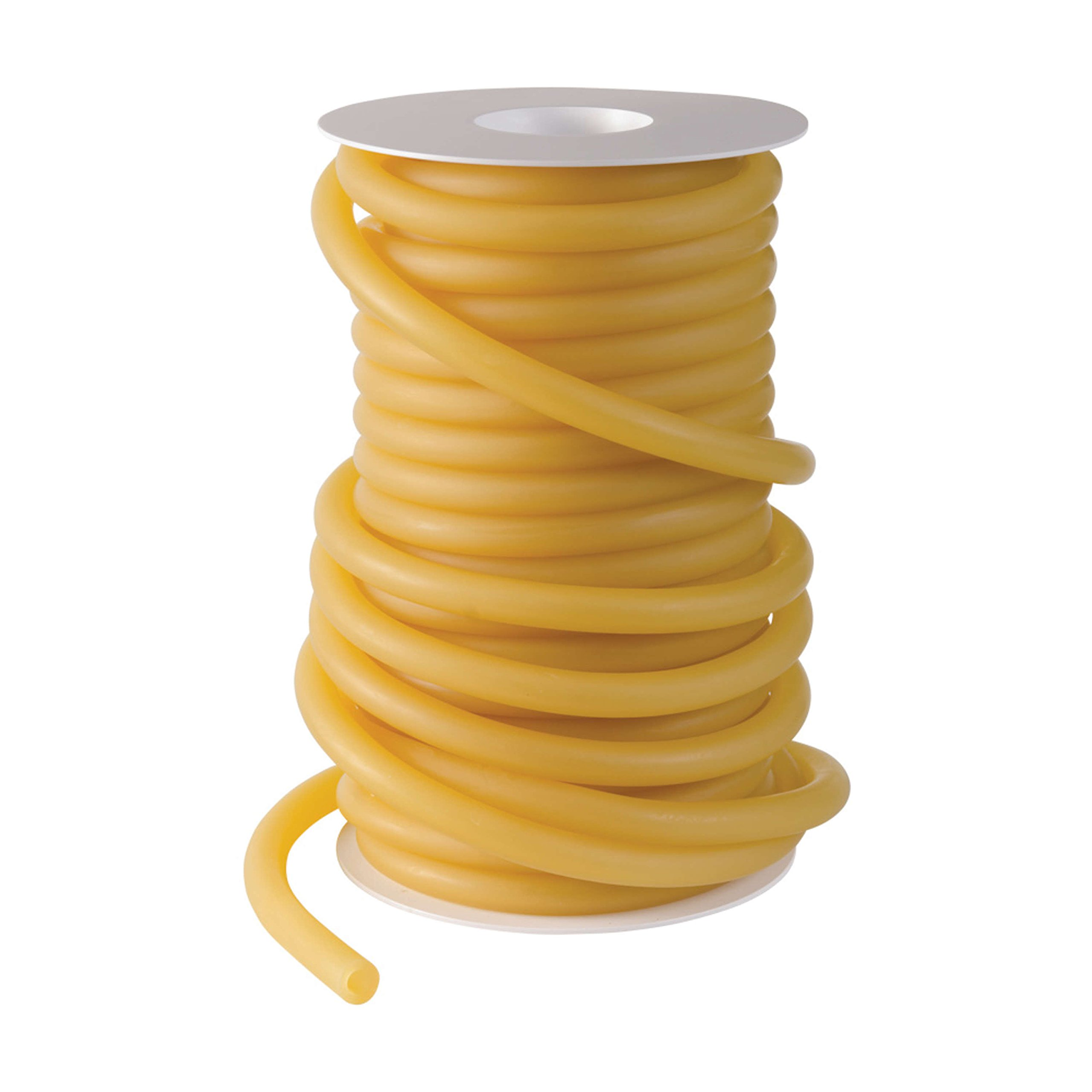 Duro-Med Latex Tubing 50 Foot Reels, 5/16 Inner Diameter, 1/16 Wall Thickness, Stethoscope Size, Amber