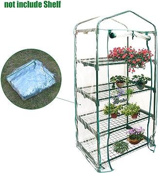 Beimaji Trade Mini serre de jardin à 5 étages en PVC chaud pour semis et  plantes (sans support en fer) b