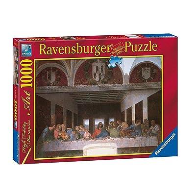 Ravensburger - Arte: Leonardo, La Ultima Cena, Puzzle de 1000 Piezas (15776 1): Juguetes y juegos
