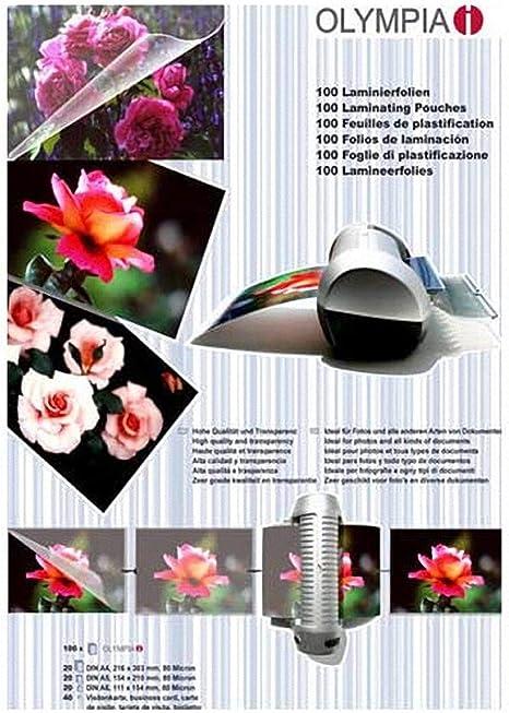 Pavo Premium A3/90//µPochette de plastification /à froid Seal Lot de 50