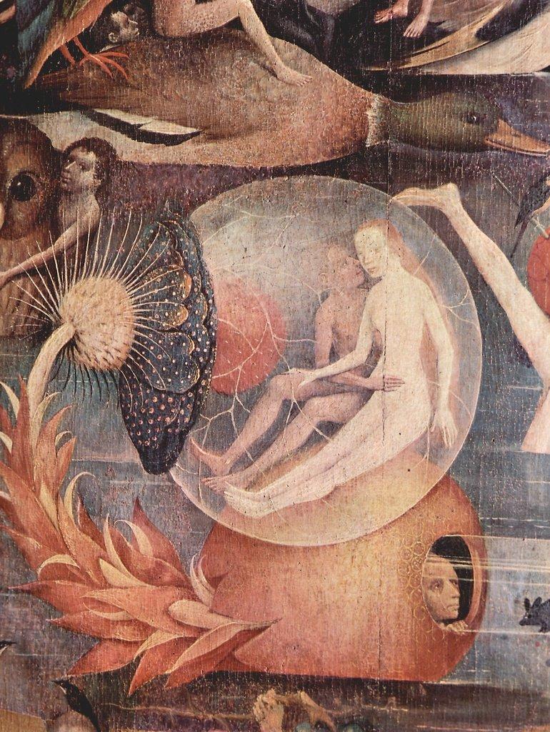 Lais Puzzle Hieronymus Bosch - Der Garten der Lüste, Lüste, Lüste, Mitteltafel: Der Garten der Lüste, Detail 2000 Teile 9fe926