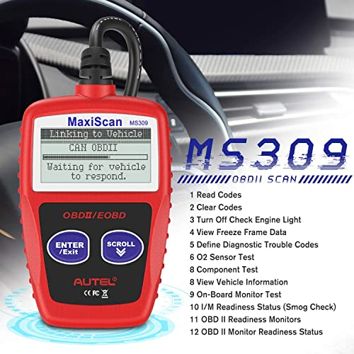 Autel MS309 Universal OBD2 Scanner