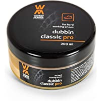 Worker Walker Dubbin Classic Pro - Natural Grease For Work Shoes Boots - Professional Wax Paste For Leather Shoes Boots – Nourishment And Water Repellency, For All Colours, 200 ml – 6.76 fl. Oz