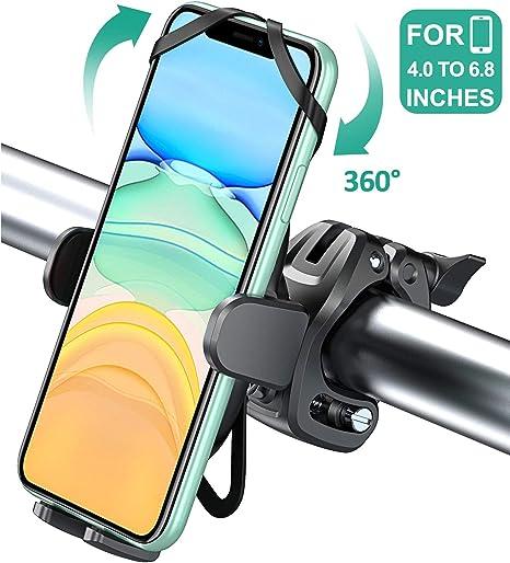 Cocoda Soporte Movil Bicicleta con 360° Rotación, Anti Vibración ...