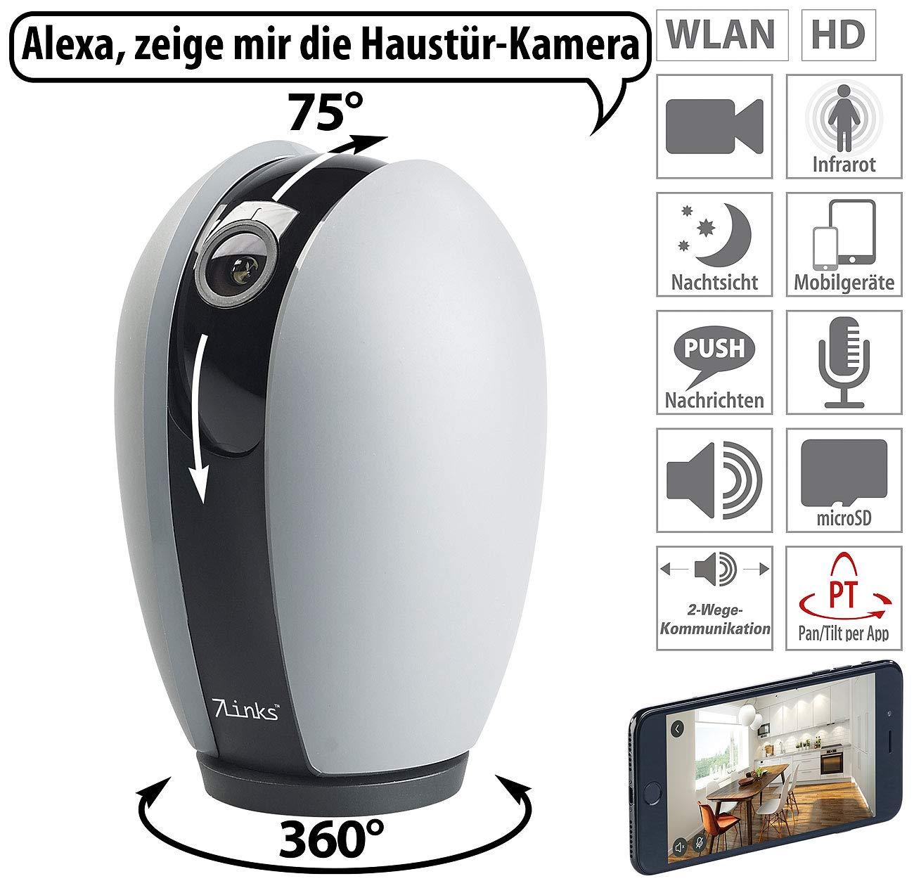 Wlan Kompatibel Seien Sie Im Design Neu Full Hd 7links Außenkamera: Outdoor-ip-Überwachungskamera