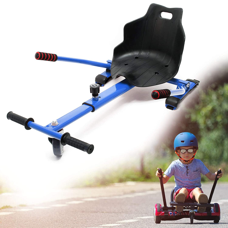 WilTec Asiento Kart Patinete eléctrico Azul Hoverboard ...