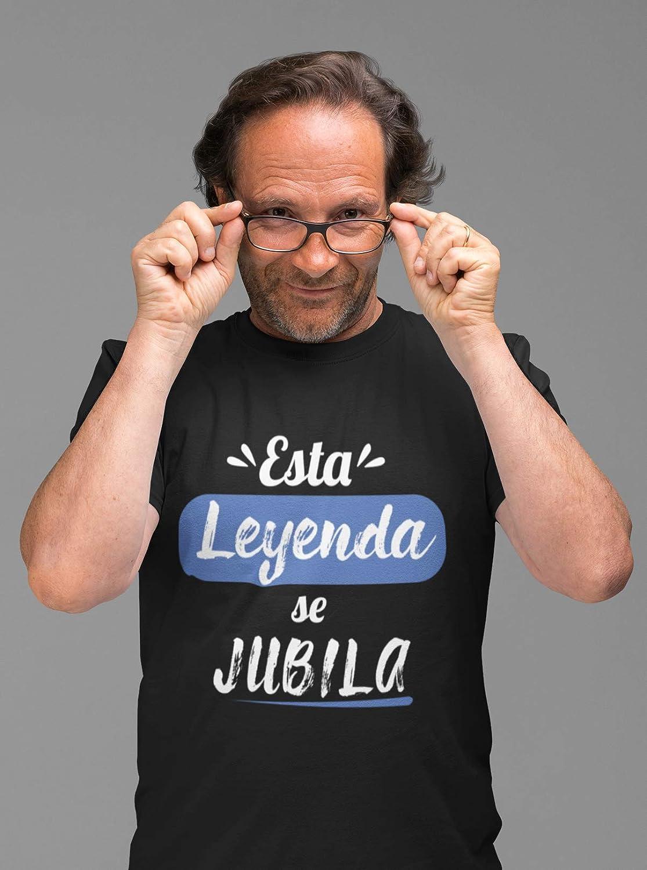 Camiseta esta leyenda se jubila hombre regalo jubilación