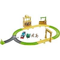 Thomas ve Arkadaşları Orman Macerası Oyun Seti - Motorlu Oyuncak Tren, Raylar, Saray, Ağaçlı Platform ve 2 Maymun Figürü…