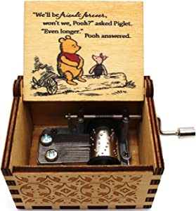 You are My Sunshine Music Box – Winnie The Pooh, The Pooh Saying, Gift for Friends, BFF, Christmas - 1 Pc(WNAA)