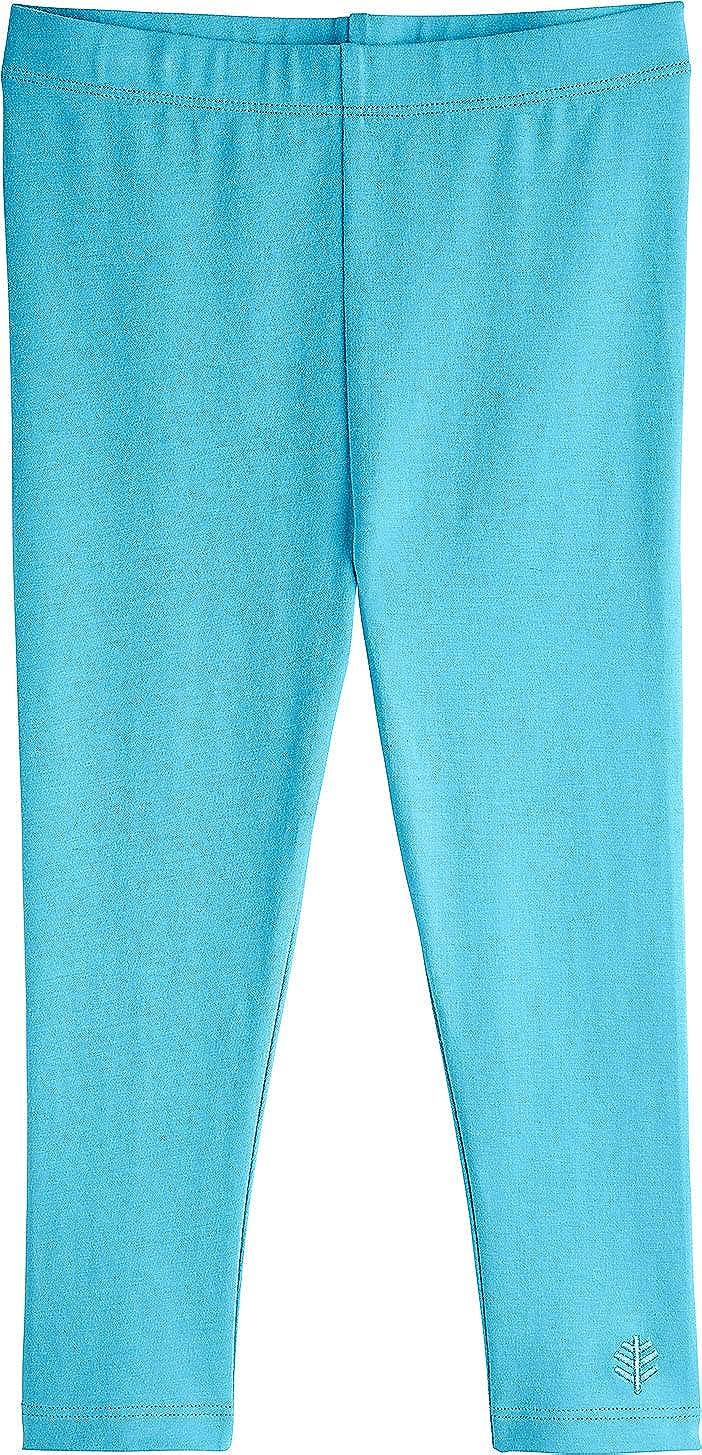 de0e0770b Amazon.com: Coolibar UPF 50+ Toddler Girl Summer Leggings - Sun Protective:  Clothing