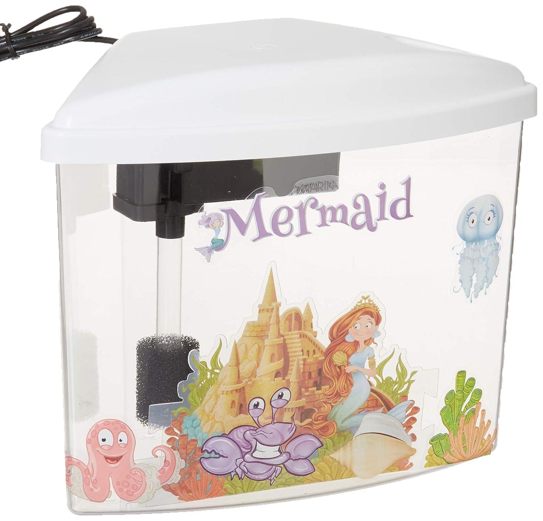 Marina 13311 Mermaid Aquarium Kit, 1 gallon