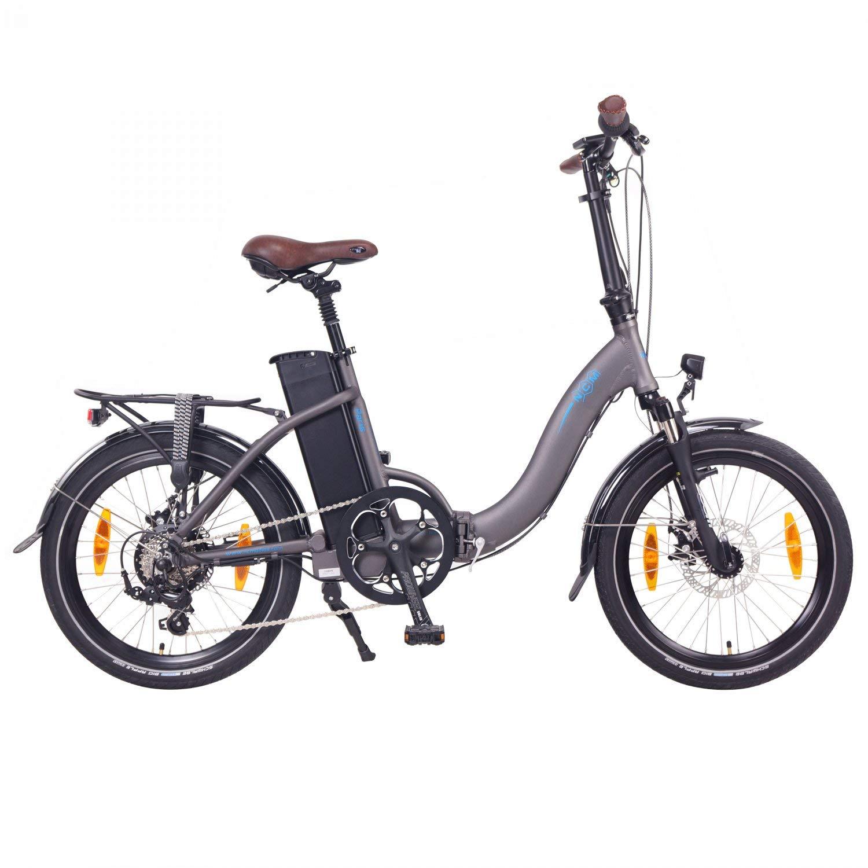 NCM Paris bicicleta eléctrica plegable
