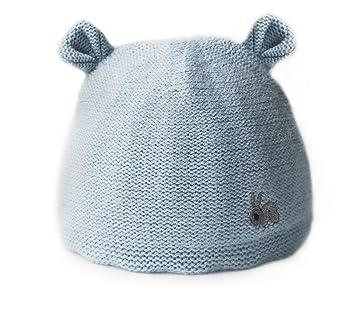 3d828264816 Newborn Baby Girls Boys Hats  Caps Cute Rabbit Double Layer Infant Warm  Winter Knitting Hat (