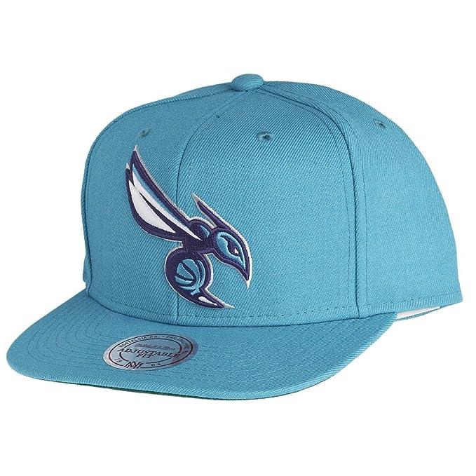 Mitchell   Ness - Gorra - NBA Charlotte Hornets Logo  Amazon.es ... 035ed3dc312