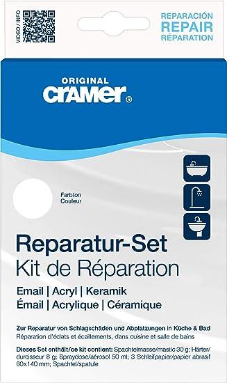 Smalto Per Ceramica E Sanitari.Cramer Kit Di Restauro Per Sanitari In Ceramica Smalto E Acrilico