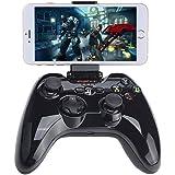 Apple MFi Certified Bluetooth Gamepad, Megadream Wireless IOS Gaming Controller Joystick Joypad with Clamp Holder for iPhone 7 6S 6 Plus 5S 5 4S, iPad Air 2, iPad Mini 4 3, iPad Pro, Apple TV, iPod
