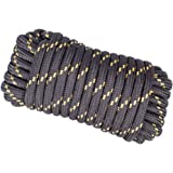 "YourTools W103-1B Rope, 1/2"" by 50', Black"