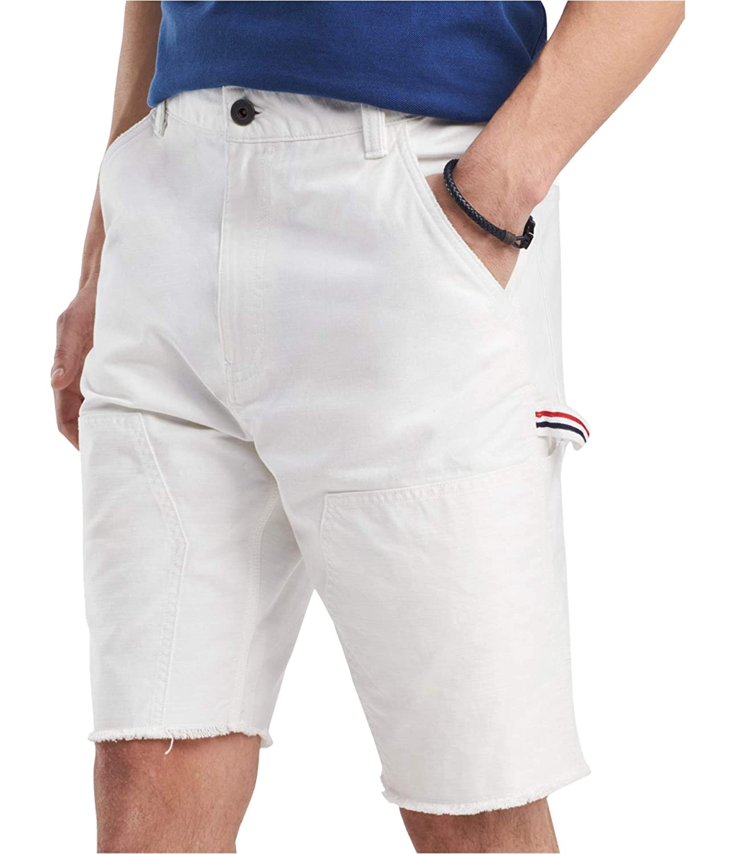 Tommy Hilfiger Mens Carpenter Casual Denim Shorts