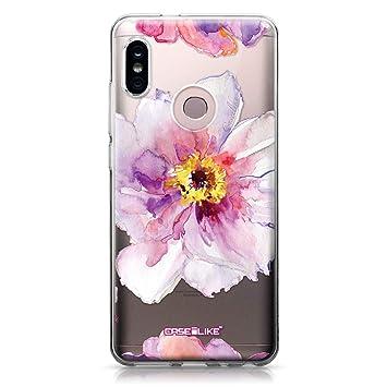 CASEiLIKE® Funda Redmi Note 5 Pro, Carcasa Xiaomi Redmi Note 5 Pro, Acuarela Floral 2231, TPU Gel Silicone Protectora Cover