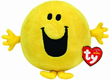 Ty UK Mr Happy Beanie - Peluche (13 cm)