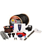Underground Electric Dog Fence Ultimate - Extreme Pro Dog Fence System for Easy Setup and Maximum Longevity and Continued Reliable Pet Safety - 1 Dog | 2000 Feet Pro Grade Dog Fence Wire