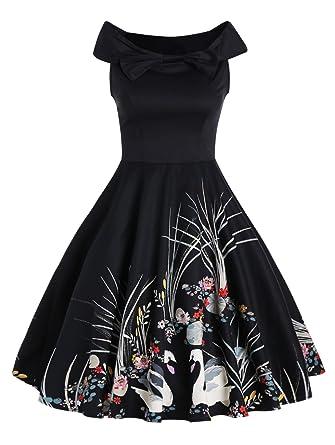 Vintage Black Cocktail Dresses Cheap