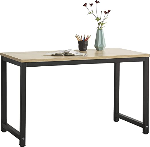 en.casa Schreibtisch Bürotisch Computertisch Arbeitstisch PC Tisch Laptoptisch