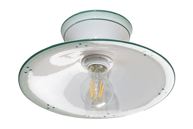 Plafoniere Da Soffitto In Offerta : Vanni lampadari lampada da soffitto piatto liscio diametro 20 in