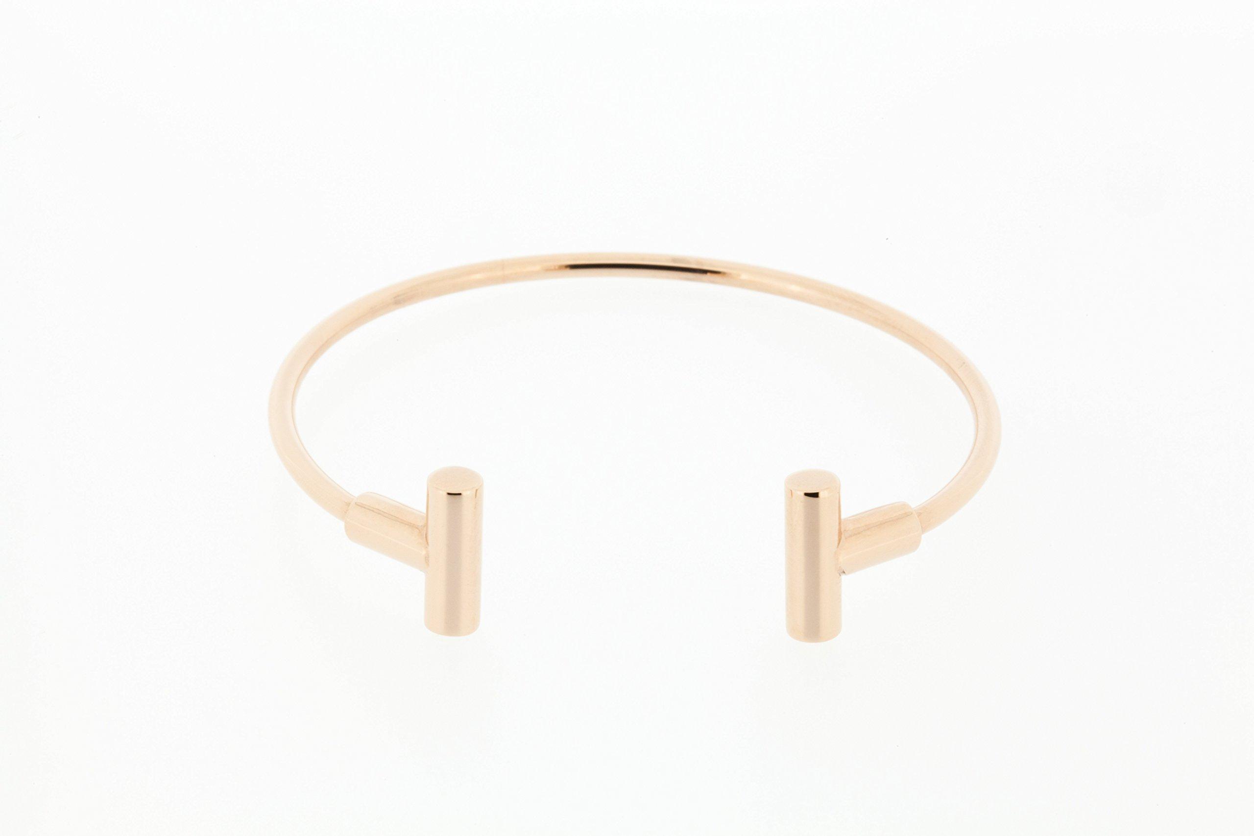 QRAY TIO Golf Athletic Bracelet (Rose Gold, Medium: 7''~7.75'')