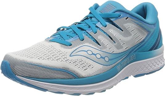 Saucony Guide ISO 2 Stabilitätsschuh Damen - Blau, Silber, Zapatillas de Running Zapato de Estabilidad para Mujer: Amazon.es: Zapatos y complementos