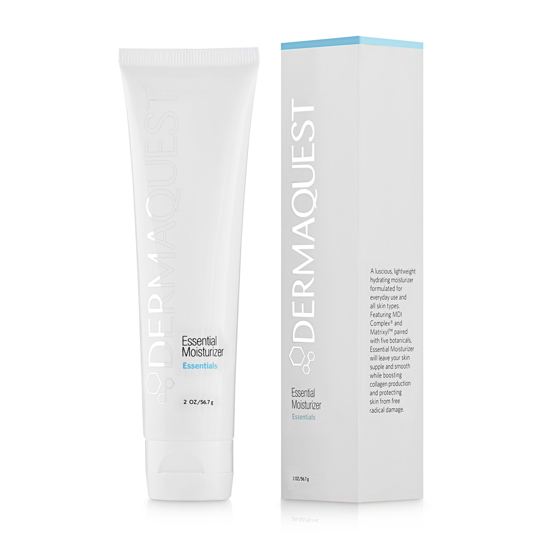 Amazon.com : DermaQuest Essential Lightweight Hydrating Moisturizer - Reduce Fine Lines and Fight Free Radical Damage, 2 oz : Beauty