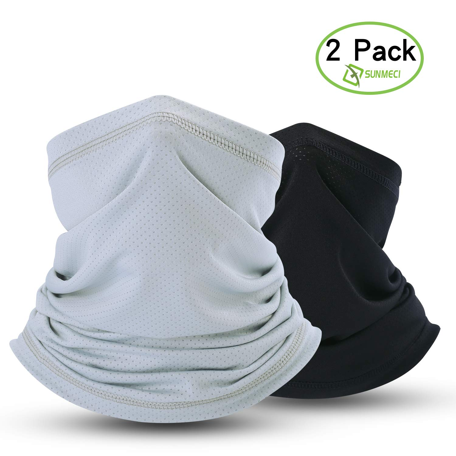 SUNMECI Summer Face Mask Breathable Sun Dust Protection Neck Gaiter for Fishing Hiking Camping Outdoors Versatile Headwrap