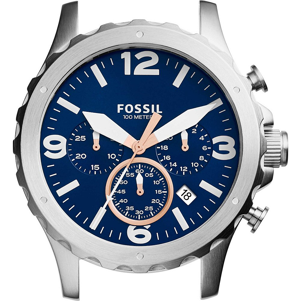 Fossil Men's C221032 Nate Chronograph Stainless Steel 22mm Case by Fossil
