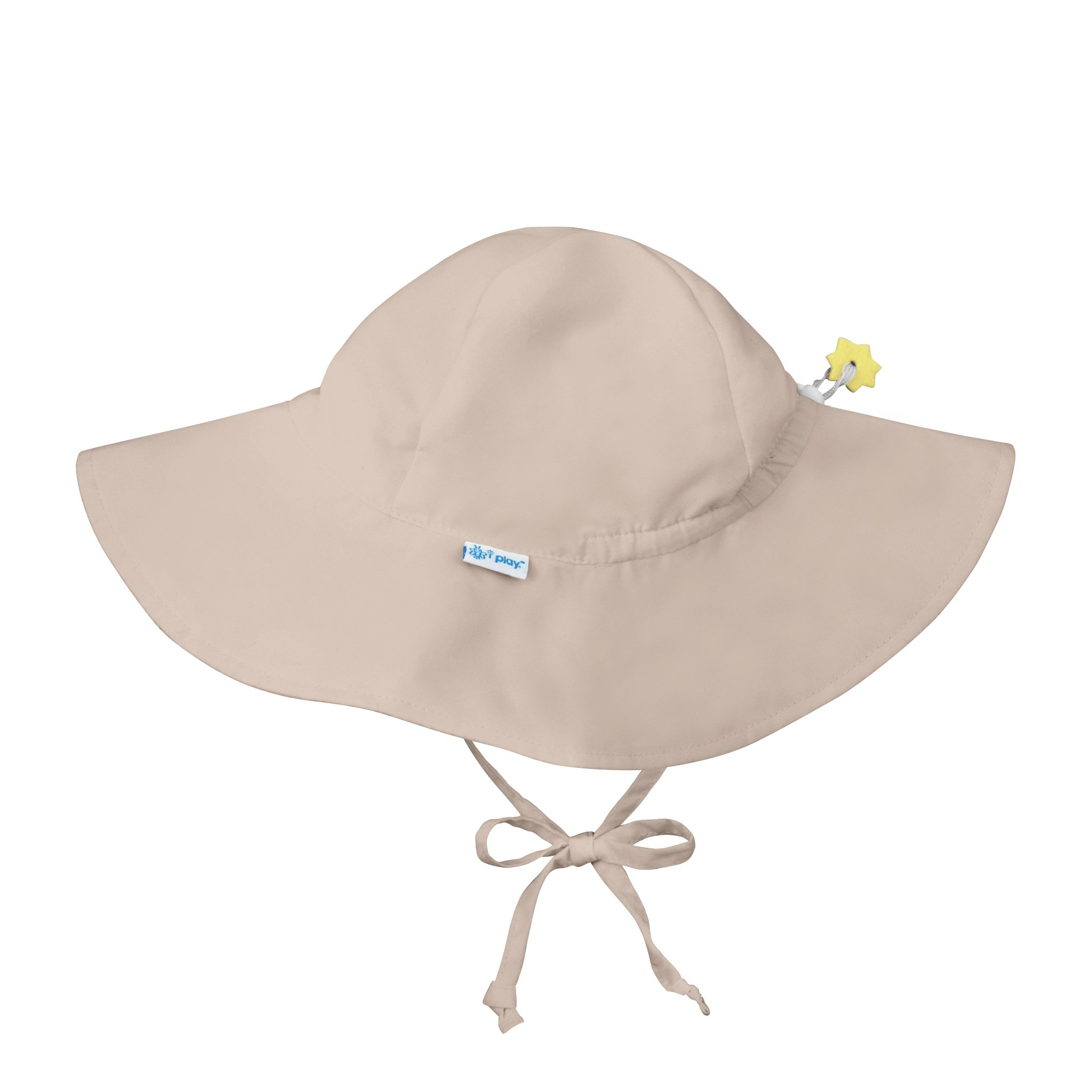 i play. Baby Toddler Solid Brim Sun Protection Hat, Khaki 2T/4T