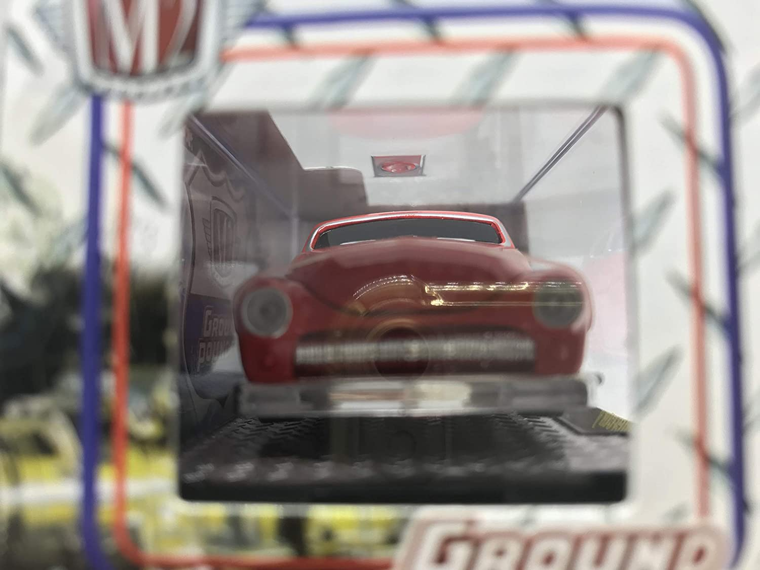 M2 Machines Ground Pounders 1949 Mercury 1//64 12-01 Red Details Like NO Other Over 42 Parts