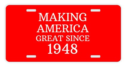 70th Birthday Gifts For Grandpa Making America Great Since 1948 Republican Party GOP Pro Conservative Novelty