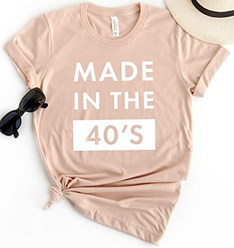 Amazon Made In The 40s T Shirt Short Sleeve Personalized