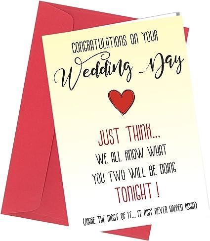 Tarjeta de felicitación de boda # 252 para adultos, humor ...