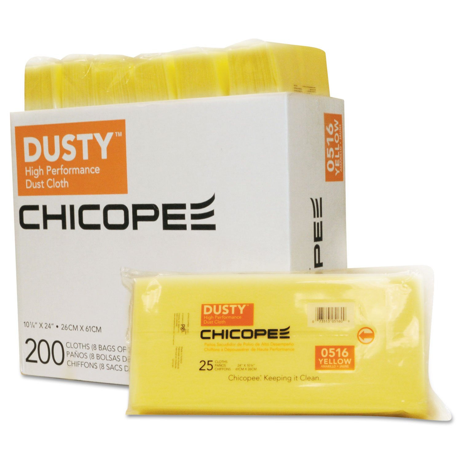 Amazon.com: DUSTY Disposable Dust Cloths, 10 1/4 x 24 ...