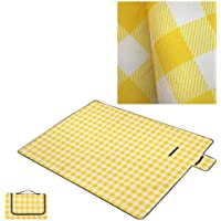 Beach blankets, picnic blankets, double-layer waterproof and sand-proof, machine washable large picnic mats and beach…