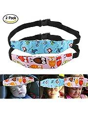 Uraqt Bebés Soporte de la Cabeza para Cinturón de Seguridad de Coche, Varios Colores