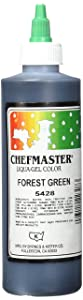 Chefmaster Liqua-Gel Food Color, 10.5-Ounce, Forest Green