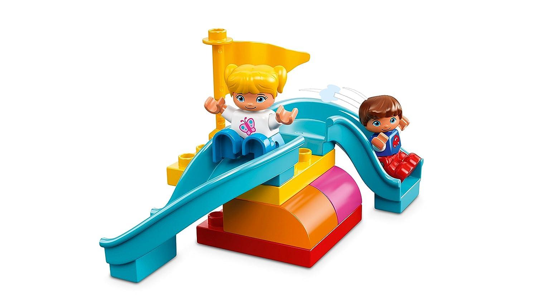 baa16a858c6ec LEGO DUPLO Large Playground Brick Box 10864 Building Set: Amazon.com.au:  Toys & Games