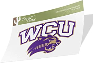 Western Carolina University WCU Catamounts NCAA Vinyl Decal Laptop Water Bottle Car Scrapbook (Sticker - 00045)