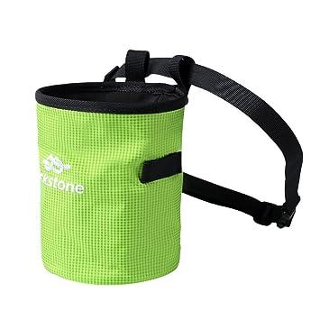 Bolsas de magnesio Escalada tiza bolsas para escalada en roca, levantamiento de pesas, para escalada, gimnasia y antideslizante al aire libre herramientas ...