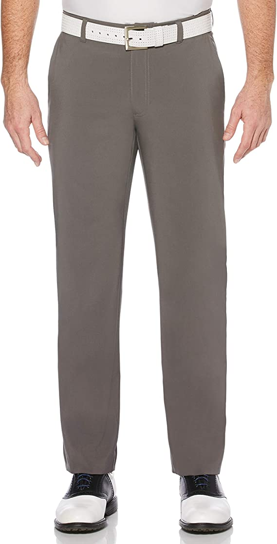 Jack Nicklaus Men's Solid Golf Pants with Active Waistband